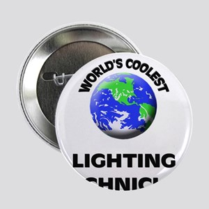 "World's Coolest Lighting Technician 2.25"" Button"