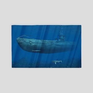 U99 Submarine 3'x5' Area Rug