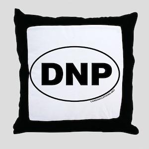 Denali National Park, DNP Throw Pillow