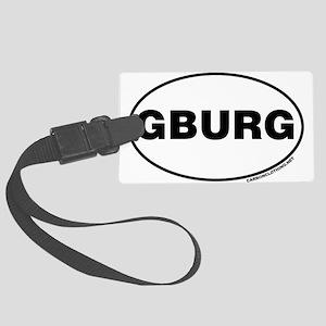 Gettysburg, GBURG Large Luggage Tag