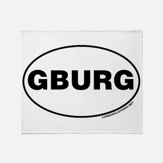 Gettysburg, GBURG Throw Blanket