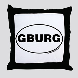 Gettysburg, GBURG Throw Pillow