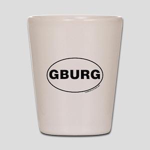 Gettysburg, GBURG Shot Glass