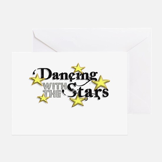 Dancing with the Stars Greeting Cards