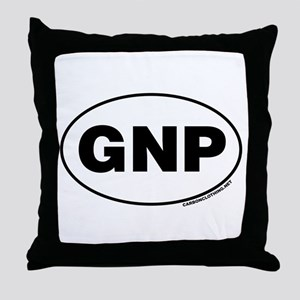 Glacier National Park, GNP Throw Pillow