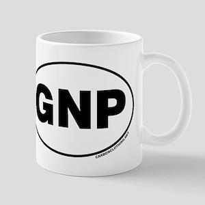 Glacier National Park, GNP Small Mug