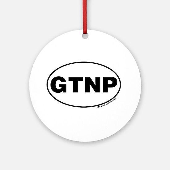 Grand Teton National Park, GTNP Ornament (Round)