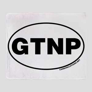Grand Teton National Park, GTNP Throw Blanket