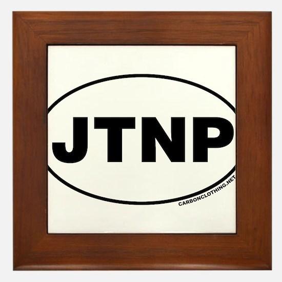 Joshua Tree National Park, JTNP Framed Tile