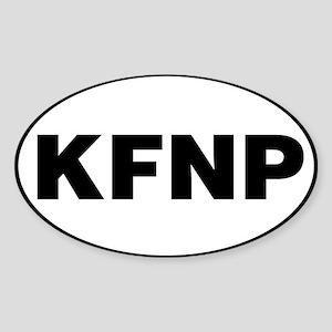 Kenai Fjords National Park, KFNP Sticker