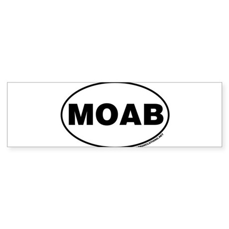 MOAB Bumper Sticker