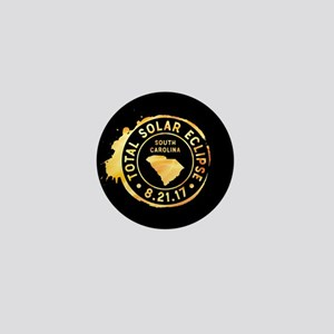 Eclipse S. Carolina Mini Button