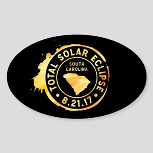 Eclipse S. Carolina Sticker (Oval)
