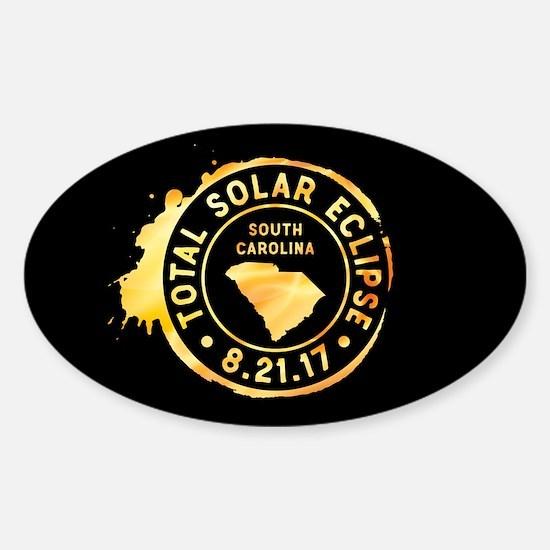 Eclipse S. Carolina Sticker (Oval)