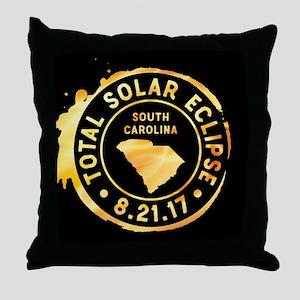 Eclipse S. Carolina Throw Pillow