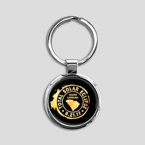 Eclipse S. Carolina Round Keychain
