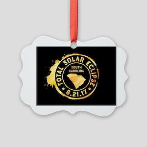 Eclipse S. Carolina Picture Ornament