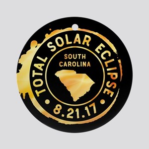 Eclipse S. Carolina Round Ornament