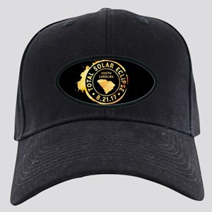 Eclipse S. Carolina Black Cap with Patch