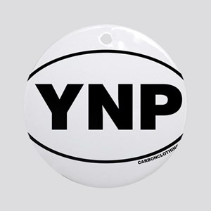 Yellowstone National Park, YNP Ornament (Round)