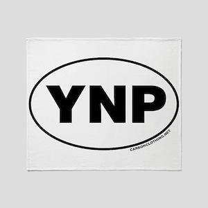 Yellowstone National Park, YNP Throw Blanket