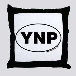Yellowstone National Park, YNP Throw Pillow