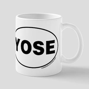 Yosemite National Park, YOSE Small Mug