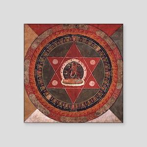 Tibetan Mandala Sticker