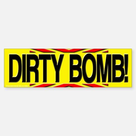 Bumper Sticker Dirty Bomb Terrorist