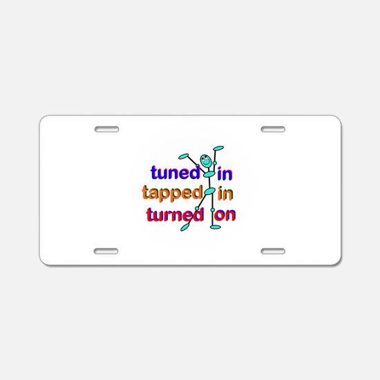 Cute Law of attraction Aluminum License Plate