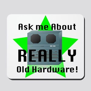 Really OLD Hardware Mousepad