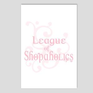 League of Shopaholics Postcards (Package of 8)