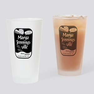 Marga Jennings Ville Drinking Glass