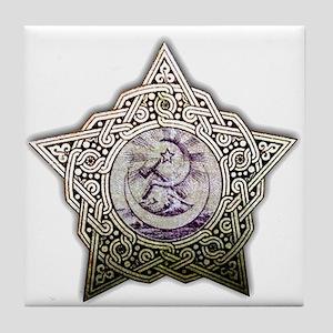 Celtic Knot 24 Tile Coaster