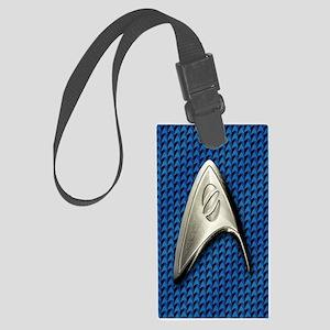 Star Trek Blue Sciences Large Luggage Tag