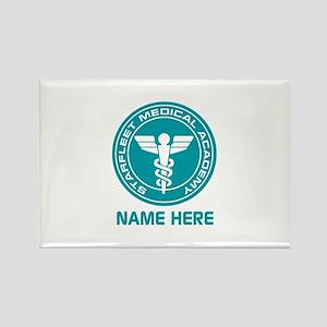 Starfleet Medical Academy Rectangle Magnet