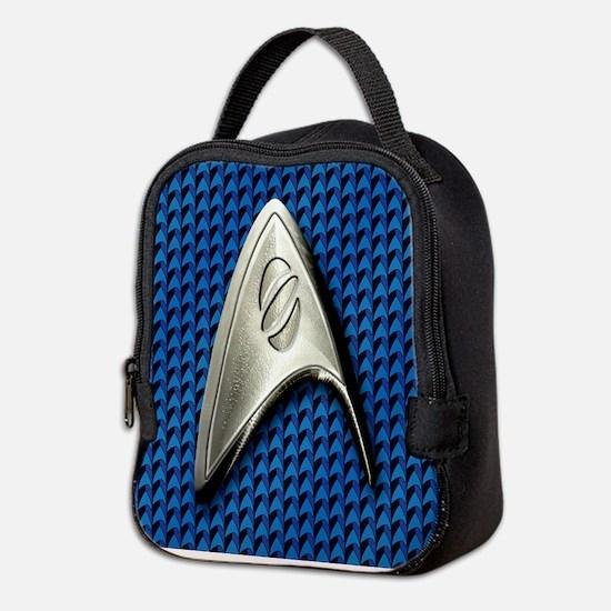Star Trek Blue Sciences Neoprene Lunch Bag
