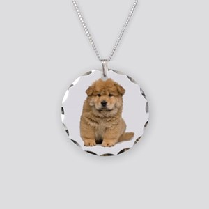 Chow Chow Necklace Circle Charm