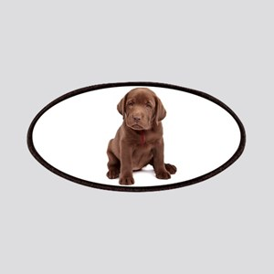 Chocolate Labrador Puppy Patches