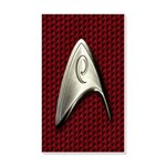Star Trek Red Operations Wall Decal