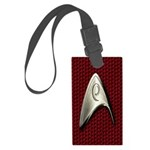 Star Trek Red Operations Luggage Tag