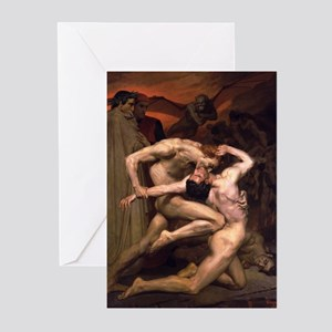 Virgil & Dante Blank Greeting Cards (Pk of 10)