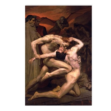 Virgil & Dante Postcards (Package of 8)
