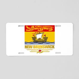 New Brunswick Pride Aluminum License Plate