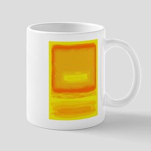 Colorfield Yellow after Rothko Mug