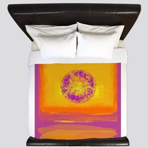 Colorfield Sunset King Duvet