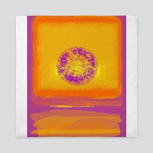 Colorfield Sunset Queen Duvet