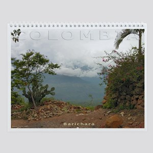 Colombia Beauty Wall Calendar