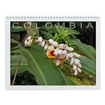Colombia preciosa Wall Calendar