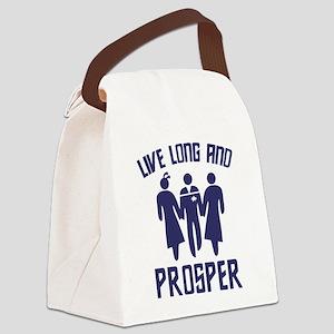 Star Trek Threesome Canvas Lunch Bag